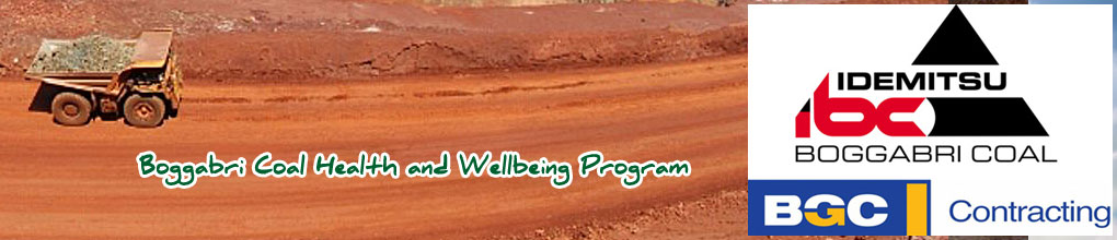 Boggabri Coal Health and Wellness Program